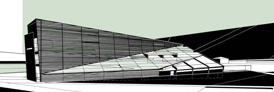 Wes jones drawings for Jones architecture